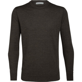 Icebreaker Shearer Crew Sweater Men peat heather